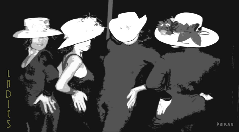 Ladies wt Hats by kencee