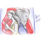Sketch 029 - #BeOurGuest by liajung