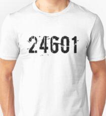 24601 - Jean Valjean - Les Miserables Unisex T-Shirt