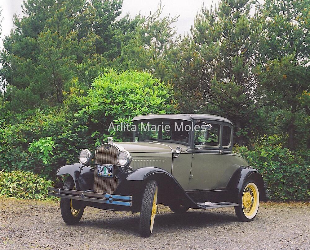 Antique Classic Ford  by Arlita Marie Moles
