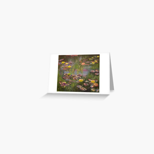 Pond in Giverny Greeting Card