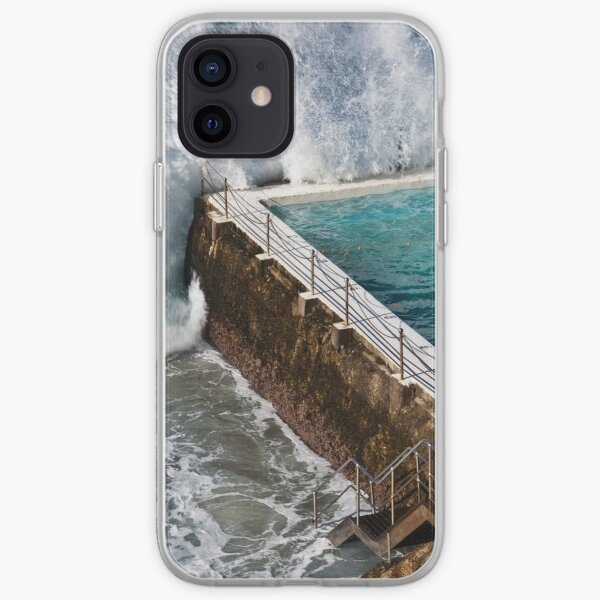 Bondi Beach Splash iPhone Soft Case