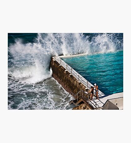 Bondi Beach Splash Photographic Print