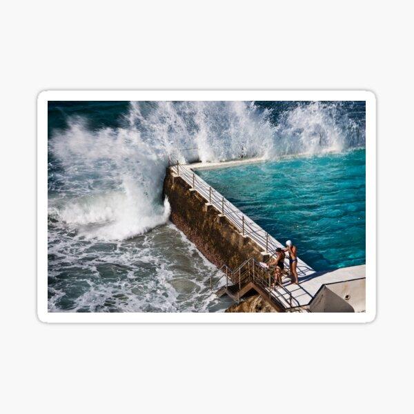 Bondi Beach Splash Sticker