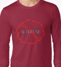 no autotune Long Sleeve T-Shirt