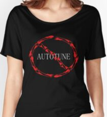 no autotune Women's Relaxed Fit T-Shirt