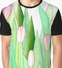 TULIPS PINK Graphic T-Shirt