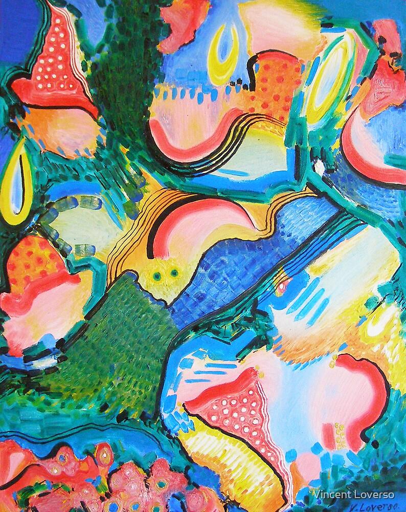 Mushroom Field by Vincent Loverso