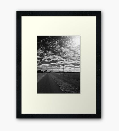 My View of Eleven March - Morning (North) Framed Print