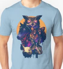 Trials of the Blood Dragon - Miami World Unisex T-Shirt