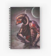 KNIGHT ROBOT Spiral Notebook