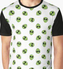 alien pattern Graphic T-Shirt