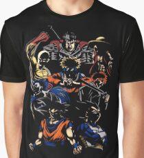 Anime Hero Graphic T-Shirt