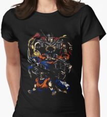 Anime Hero Womens Fitted T-Shirt