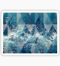 Geometric sea Sticker