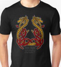Kitsap Medieval Faire Knotted Dragon Unisex T-Shirt