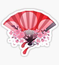 Hand fan Sticker