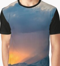 Dance of Light and Clouds Graphic T-Shirt