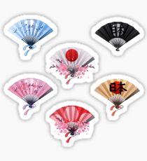 Hand fans Sticker