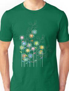 My Groovy Flower Garden Grows II Unisex T-Shirt