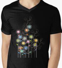 My Groovy Flower Garden Grows II Mens V-Neck T-Shirt