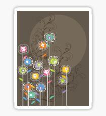My Groovy Flower Garden Grows II Sticker