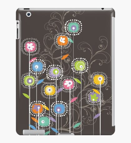 My Groovy Flower Garden Grows II iPad Case/Skin