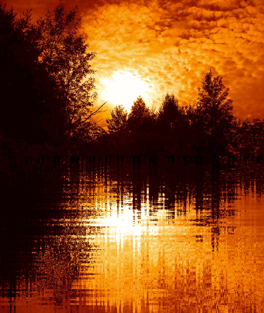 Fiery Morning by nikspix