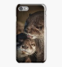 Mum And Baby Otter iPhone Case/Skin