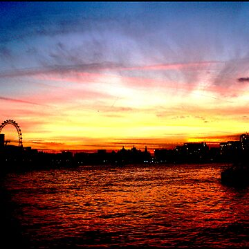 Thames Sunset by JKeeley