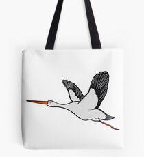 stork fly wings Tote Bag
