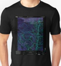 USGS TOPO Map Colorado CO Mount Richthofen 233884 2000 24000 Inverted T-Shirt