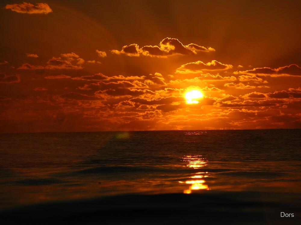 Ocean Sunset Forever by Dors