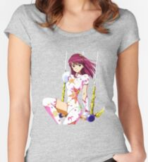sora kaleido star Women's Fitted Scoop T-Shirt