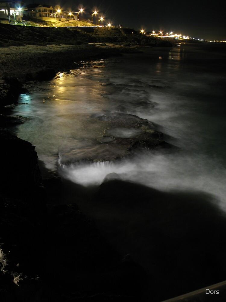 Ocean Night Blanket by Dors