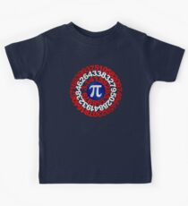 Captain Pi - Pi Day 2017 T-shirt Kids Clothes