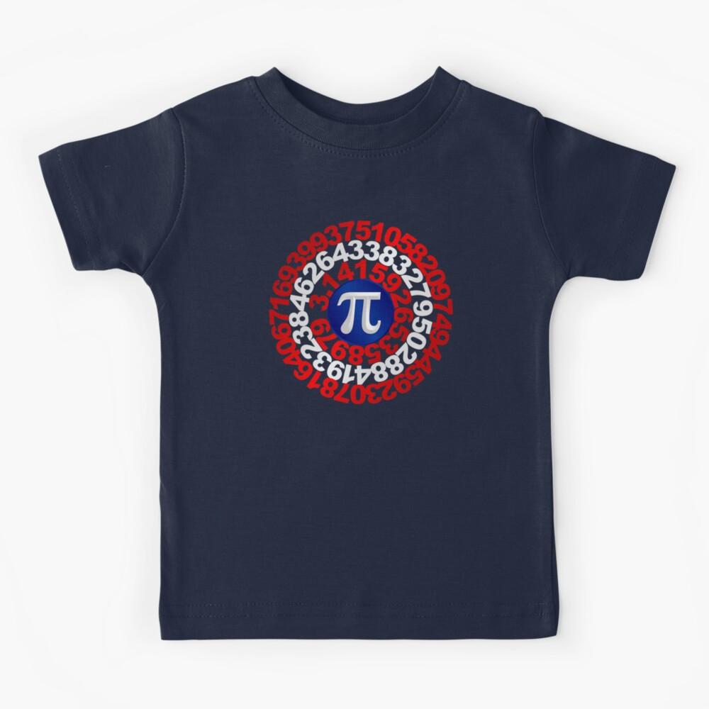 Captain Pi - Pi Day 2017 T-shirt Kids T-Shirt