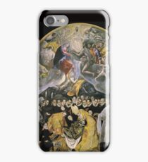 El Greco - The Burial Of The Count Of Orgaz iPhone Case/Skin