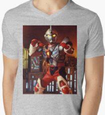 super human samurai Mens V-Neck T-Shirt