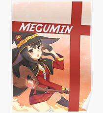 KONOSUBA MEGUMIN 02  Poster