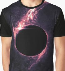 Amazing and Beautiful  Space  Black hole Graphic T-Shirt