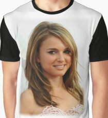 Natalie Portman oil paint Graphic T-Shirt