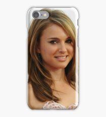 Natalie Portman oil paint iPhone Case/Skin