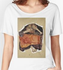 Egon Schiele -Troubled Woman Women's Relaxed Fit T-Shirt