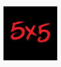 5X5 Photographic Print
