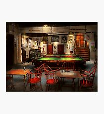 Hobby - Pool - The billiards club 1915 Photographic Print
