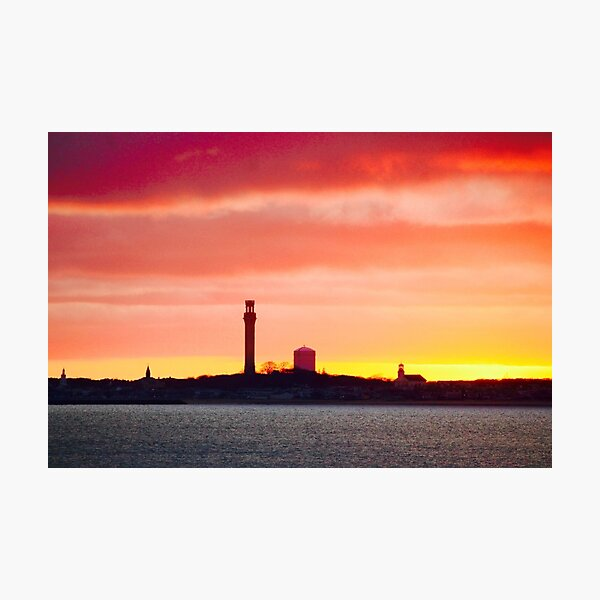 Looking At Provincetown From Truro Photographic Print