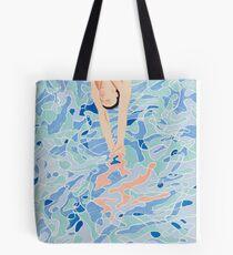 David Hockney Olympics art Tote Bag