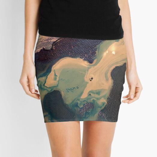 Sea Foam Mini Skirt