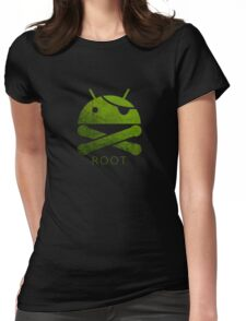Root Android Womens Fitted T-Shirt